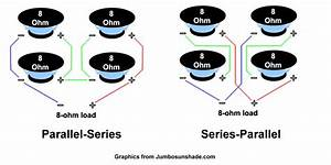 Do All Series  Parallel Wiring Methods For A 4x12 Sound The