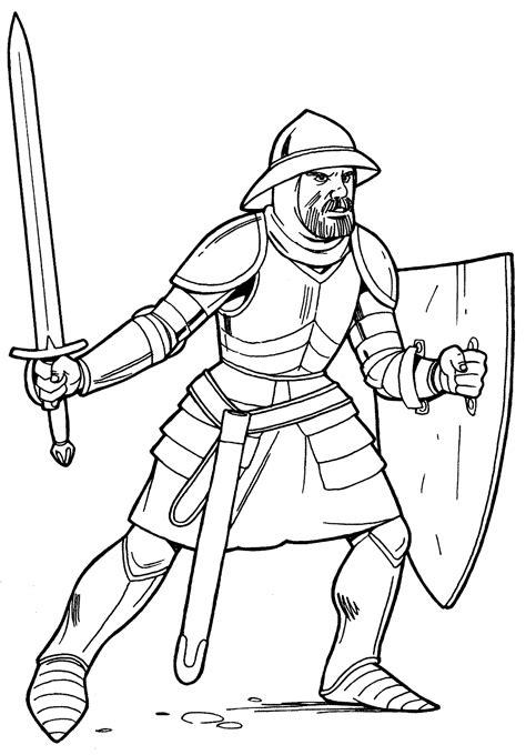 sword disegni da colorare disegni da colorare cavaliere in armatura leggera