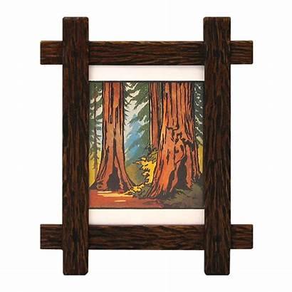 Frame Rustic Lap Adirondack Frames Wood Narrow