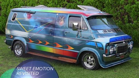 sweet emotion  custom dodge van revisited youtube