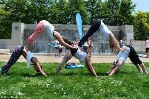 Yoga Challenge Poses 5 People