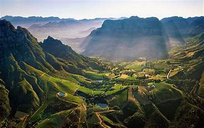 Africa South Landscape Wallpapers Mountain Mountains Nature