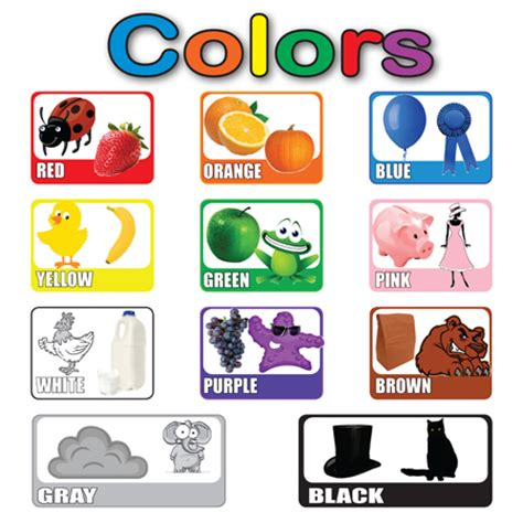 Joyful English For Kids Colors For Kids