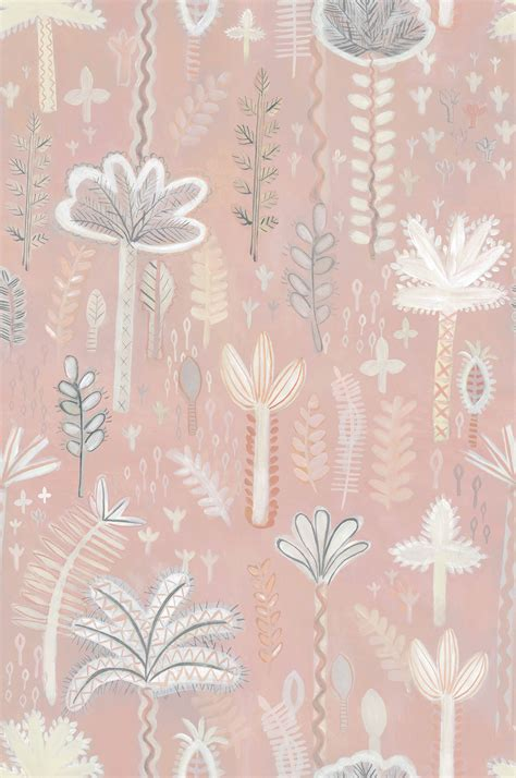 JAIPUR (ROSE) WALLPAPER (10M) A4 SAMPLE Lucy Tiffney Shop