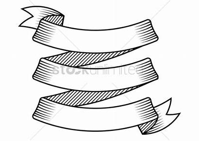 Ribbon Banner Vector Drawing Graphic Stockunlimited Getdrawings