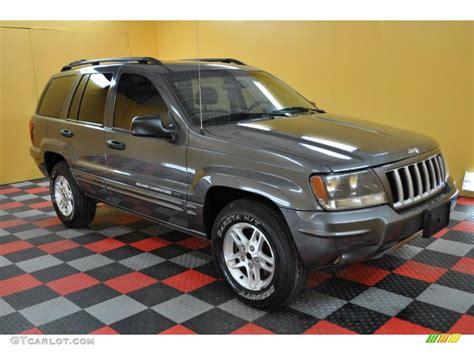 2004 graphite metallic jeep grand special edition