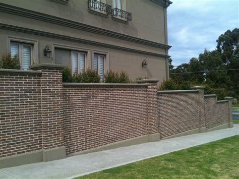 brick fence ideas diy brick fence fence info center