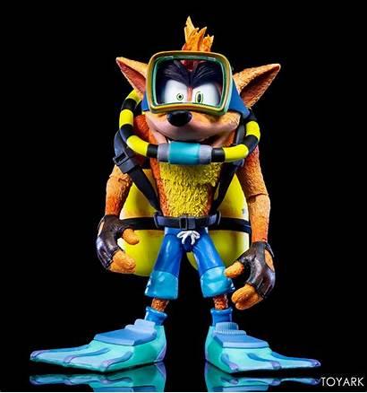Crash Bandicoot Scuba Neca Gear Figure Toyark