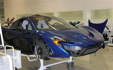 Deadmau5 Shares Progress Shots Of Blue Mclaren P1 Gtspirit