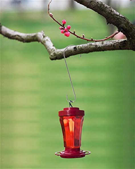 esylife 12 inch strong rust resistant bird feeder hooks