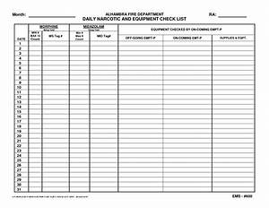 Pin narcotic count sheet template on pinterest for Medication signing sheet template