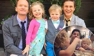 Neil Patrick Harris' husband David Burtka insists twins ...