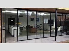 Bi Folding Doors, UltraSlim Aluminium, Frameless Glass Doors