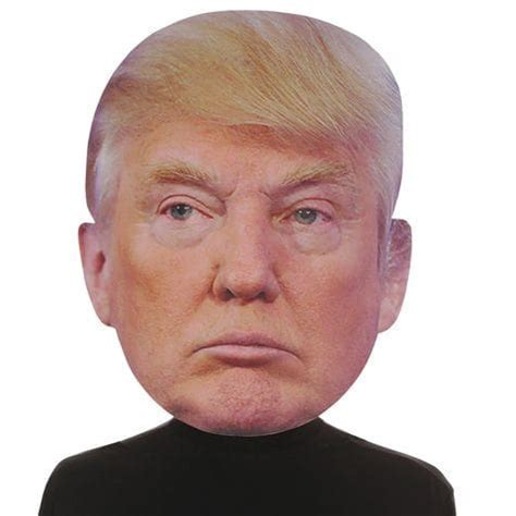 Big Head Donald Trump Mask: Shopko