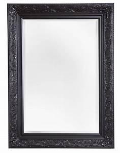 Große Spiegel Mit Rahmen : spiegel mit schwarzem barock rahmen ~ Michelbontemps.com Haus und Dekorationen