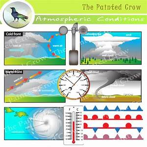 Clip Art  Cold Front And Thunderstorms On Pinterest