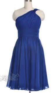 bridesmaid dresses royal blue royal blue one shoulder bridesmaid gown dvw0151 vponsale wedding custom dresses