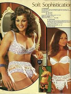 catalogue page for lingerie from the 70ies (probably