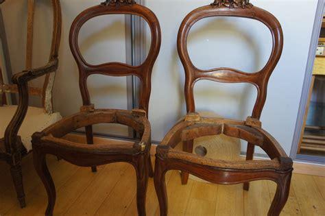 retapisser une chaise chaise salle a manger style ancien idées de décoration