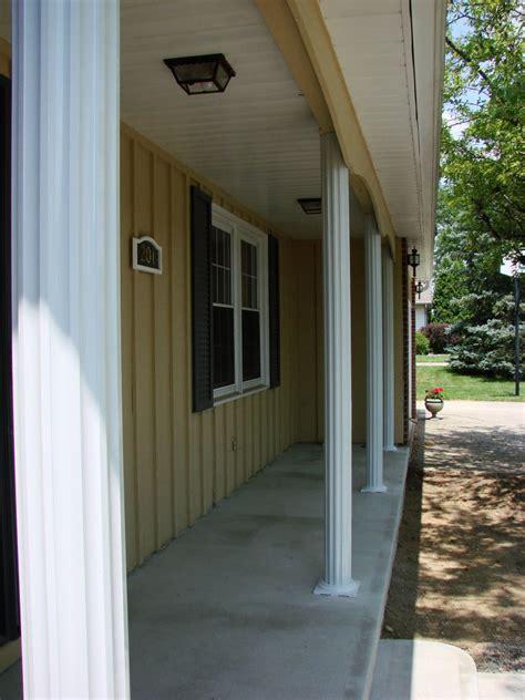aluminum porch columns fluted aluminum porch posts bryan ohio jeremykrill