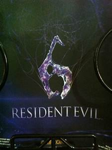 The Resident Evil 6 logo looks like a woman giving a ...