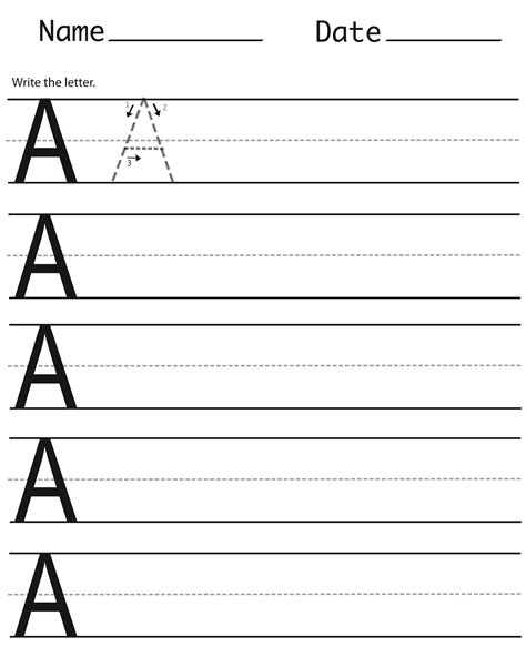 best printable handwriting sheets activity shelter