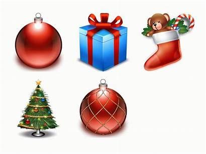 Christmas Cartoon Present Icon Clipart Presents Gift