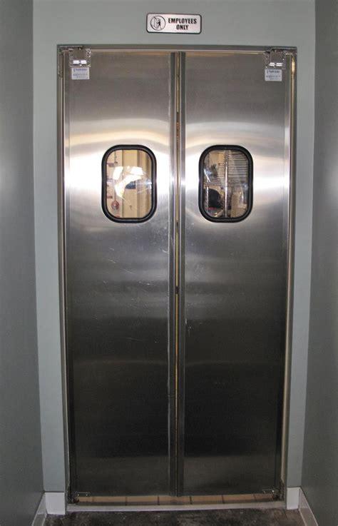 stainless steel doors stainless steel restaurant doors in stock tuff lite