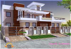 modern home plans modern style india house plan kerala home design and