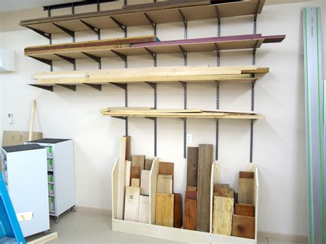 bookcase with legs lumber scrap bins the wood whisperer