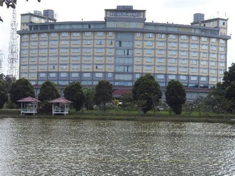 Golden View Hotel Facing A Fishing Pond