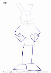 Learn How To Draw Bonnie  Five Nights At Freddy U0026 39 S  Step By