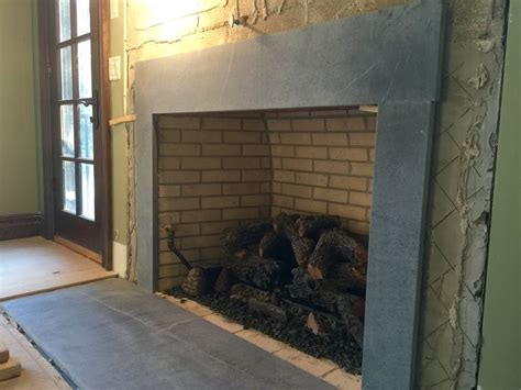 Soapstone Hearth Slab by 1000 Images About Soapstone Fireplaces On