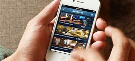 Booking Mobile by Hotel Bookings Increase On Mobile By Hotelogix