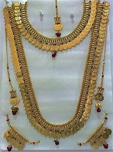 Bridal Coin Necklace Sets, Artificial And Metal Necklaces ...