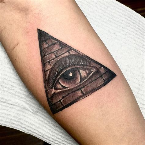 60+ Mysterious Illuminati Tattoo Designs  Enlighten Yourself