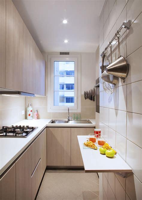 ergonomie cuisine la cuisine couloir 10 exemples à suivre cuisines et bains