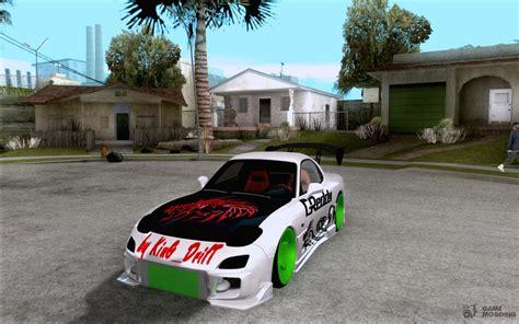Mazda Rx-7 Drift Version For Gta San Andreas
