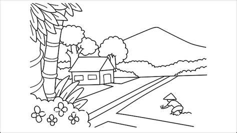 15 mewarnai gambar sketsa kegiatan edukatif anak rekomended