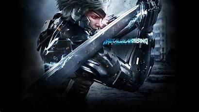 Rising Gear Metal Revengeance Solid Wallpapers Raiden
