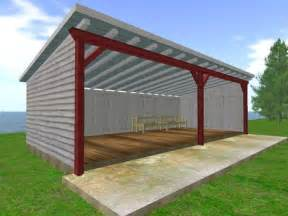 tractor shed building plans homemade shed plans