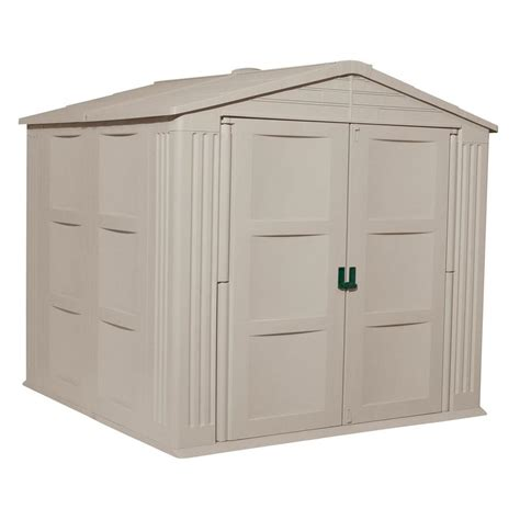 suncast sutton shed accessories resin storage shed small outdoor storage sheds low