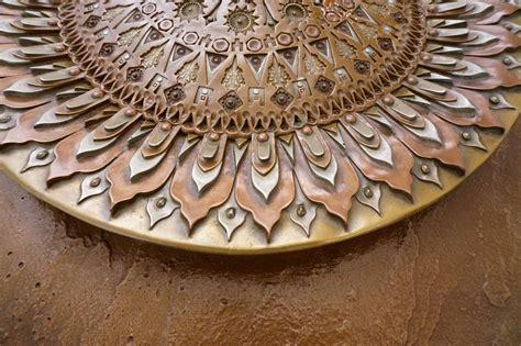 giovanni schoeman sculpture sunflower cold cast bronze