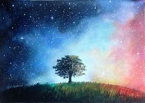 Galaxy tree by goingforawalk on DeviantArt