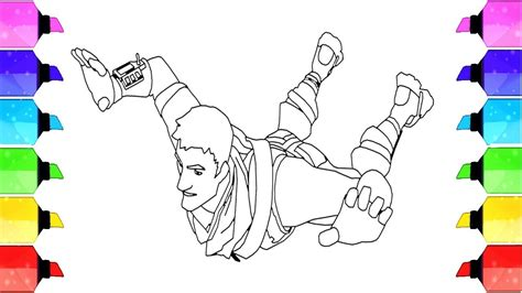 Fortnite Video Game Coloring Pages Warlord