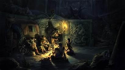 4k Fire Gharry Cauldron Torch Hideaway Elf