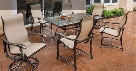 ravello sling sling patio furniture tropitone