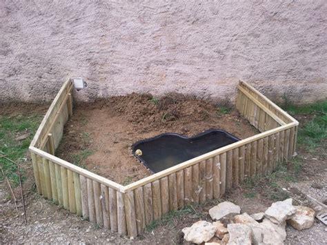 habita bassin enclo les tortue de floride