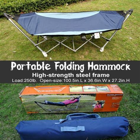 atleisure folding hammock chair pillow as gift high grade cing portable hammock set