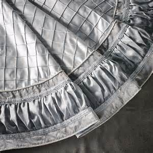 silver and pearl tree skirt christmas winter pinterest